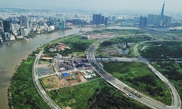 4 Tuyến đường chính Khu Đô Thị mới Thủ Thiêm